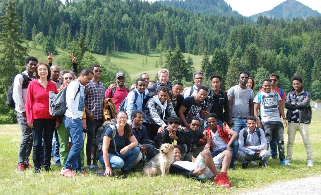 Ausflug zur Breitach-Klamm